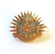 Image of Westie Cap Badge - Officers / RSM