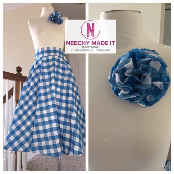 Image of Lena Swing Skirt (Zipper)