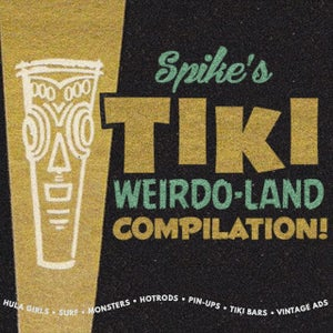 Image of Spike's Tiki Weirdo-land DVD compilation