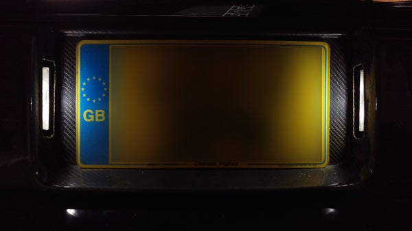 Image of OMG! Roadster VIP LED Number Plate Kit.