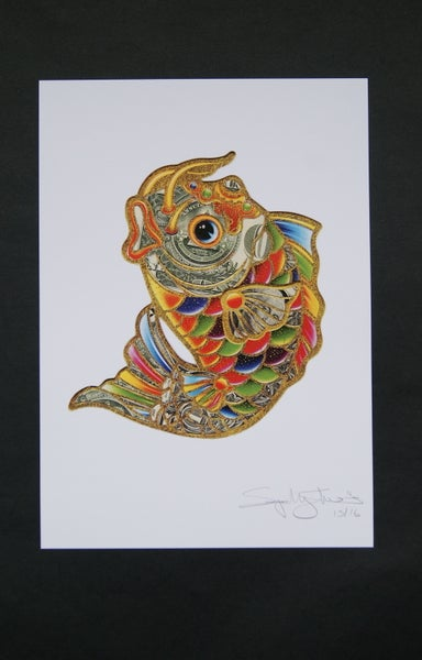 Image of Fortune Fish A5 Print Limited Edition