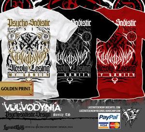 Image of VULVODYNIA - Sanity Tshirt