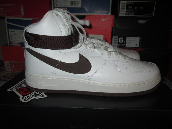 "Air Force 1 High Retro QS ""Summit White/Chocolate"" - FAMPRICE.COM by 23PENNY"