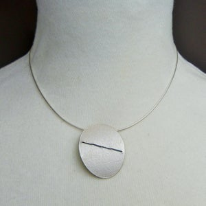Image of Large Sewn Up necklace