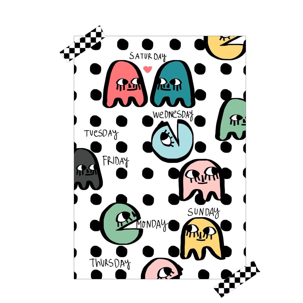 """Image of Lámina """"Pacman"""""""