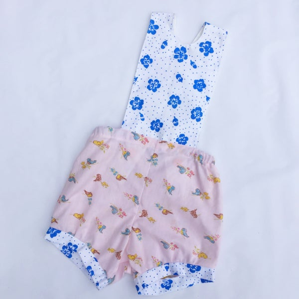 Image of Baby romper - size 12-18mths - little birds