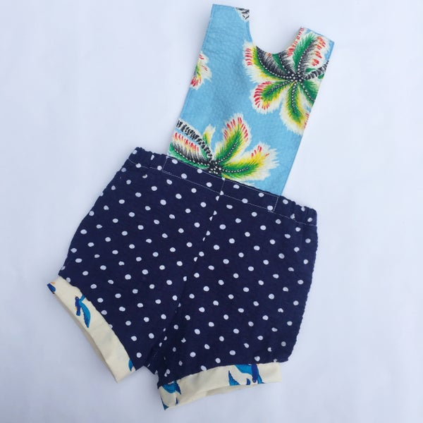 Image of Baby romper - size 00 - Tropicana