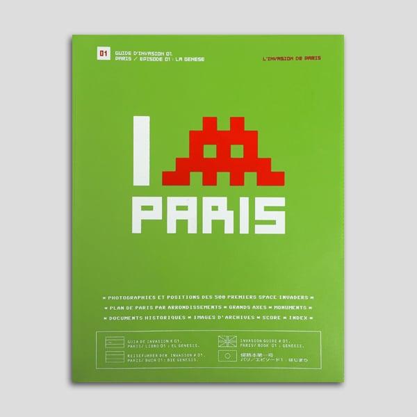 Image of Invader - L'Invasion de Paris (2003 / 1st Ed.)
