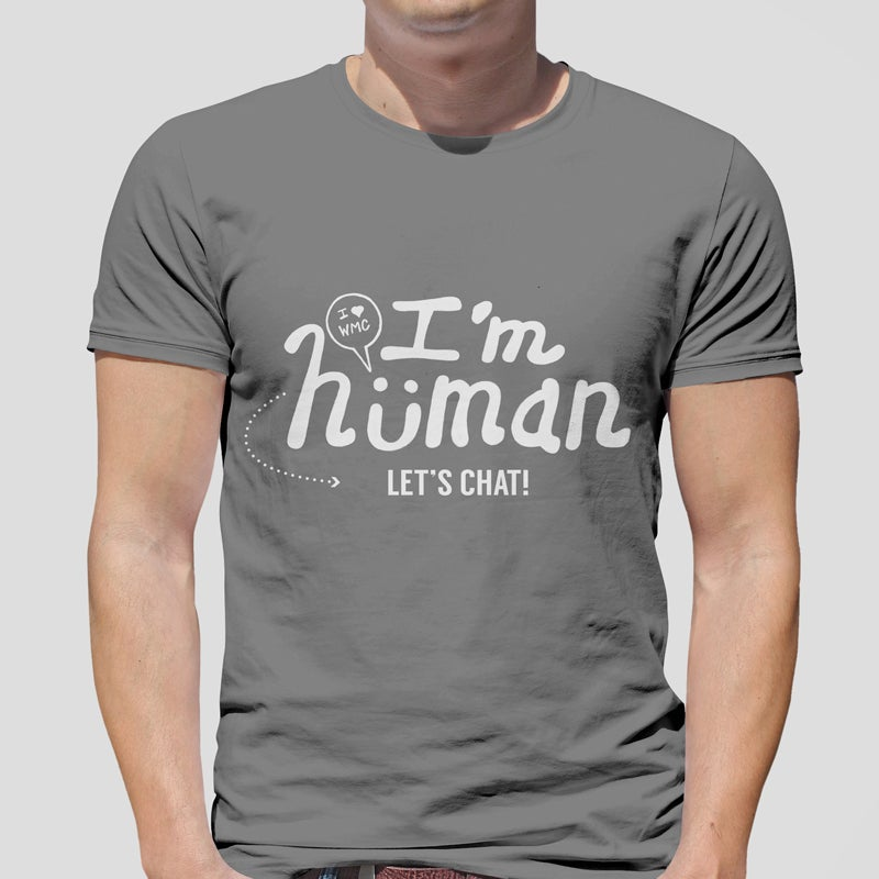 Image of WMC T-Shirt: I'm Human, Let's Talk!