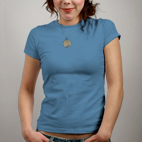 Image of Blue Womens T-shirt