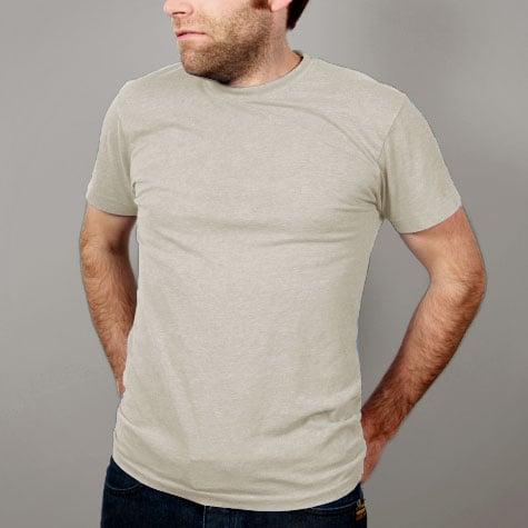 Image of Tan Mens T-shirt