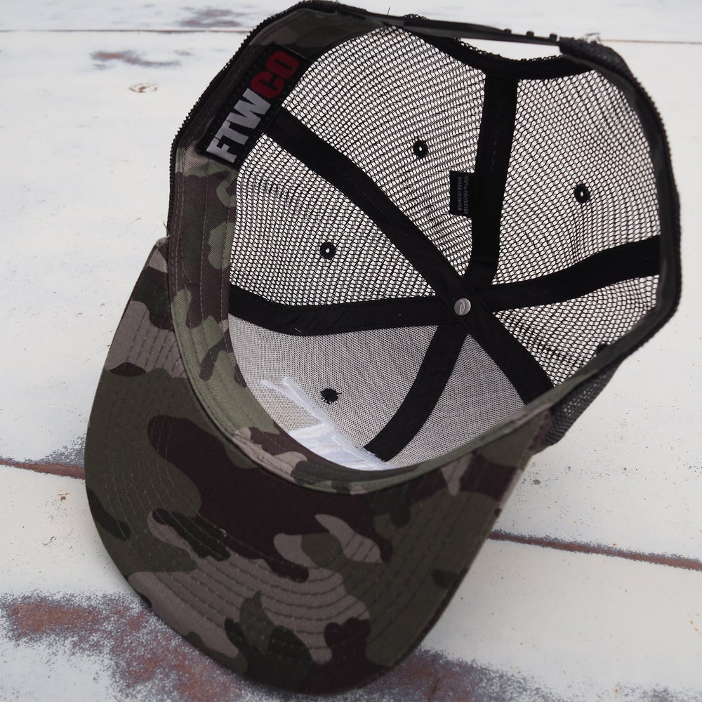 FTWCO Camo - Snap back Hat