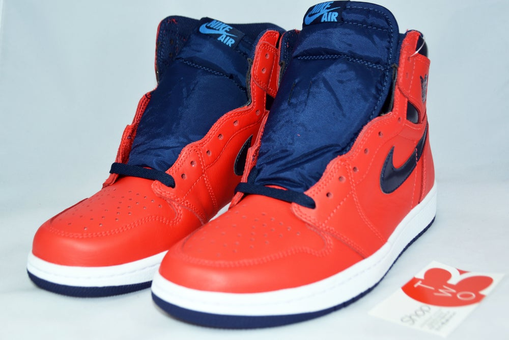 "Image of Air Jordan 1 Hi OG Retro ""David Letterman"""