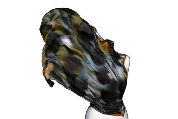 Image of Great Barrier Reef   Lion Fish Silk Scarf