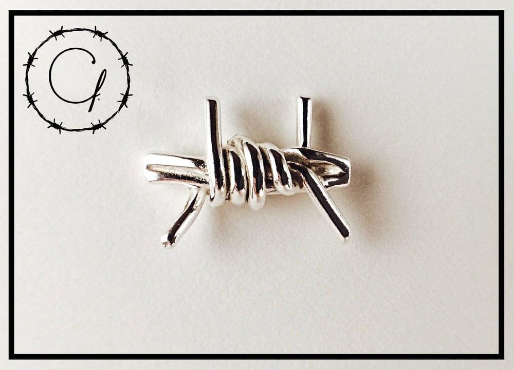 Image of Barbwire Cufflink Set
