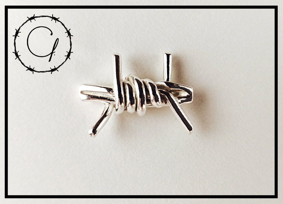 Image of Barbwire Cufflink Set