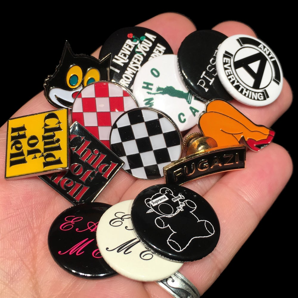 Image of 2015 Pins & Buttons