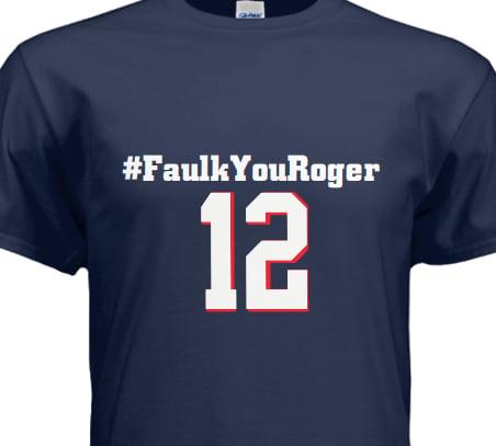 Image of #FaulkYouRoger Tee Shirt
