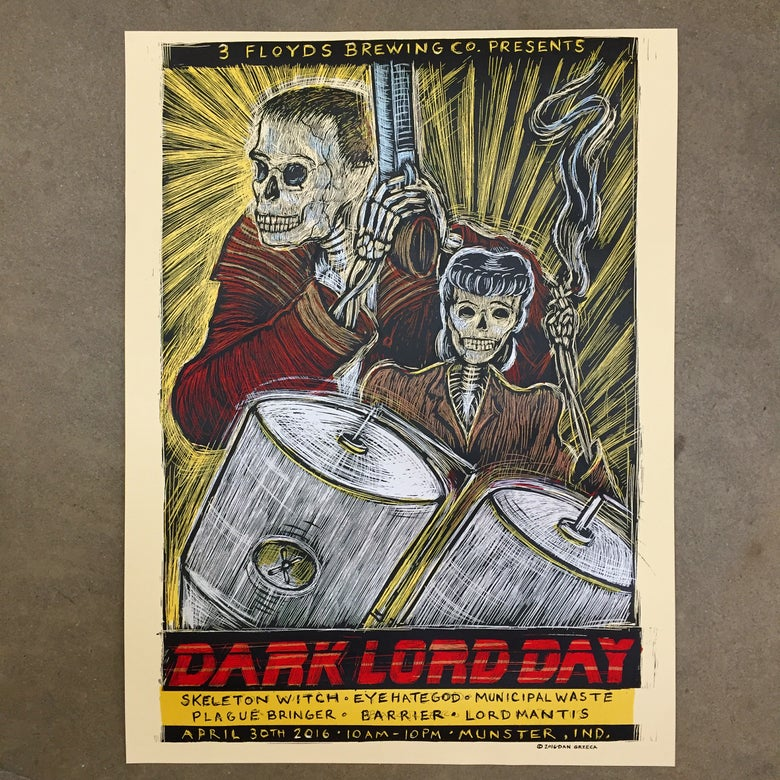 Image of Dark Lord Day 2016 poster