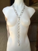 Image of Long Pearl Lariat