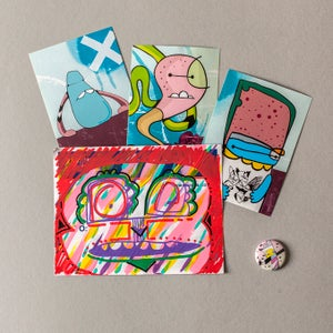 Image of Sticker / Badge Pack 19