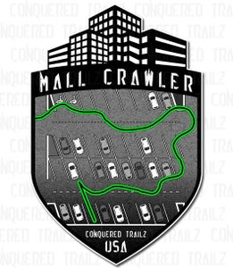 "Image of ""Conquered Mallz"" Badge"