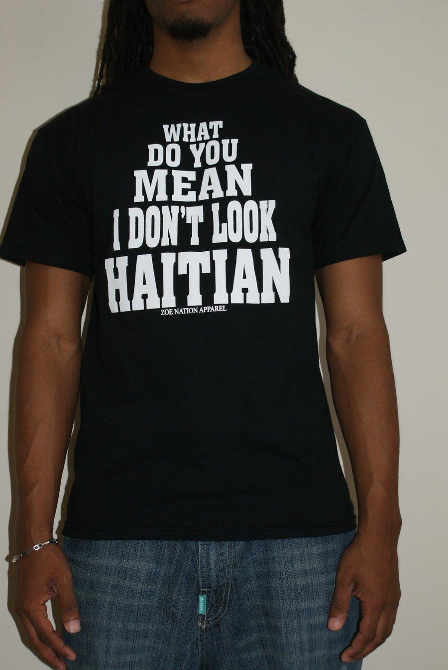 Image of You Don't Look Haitian Men