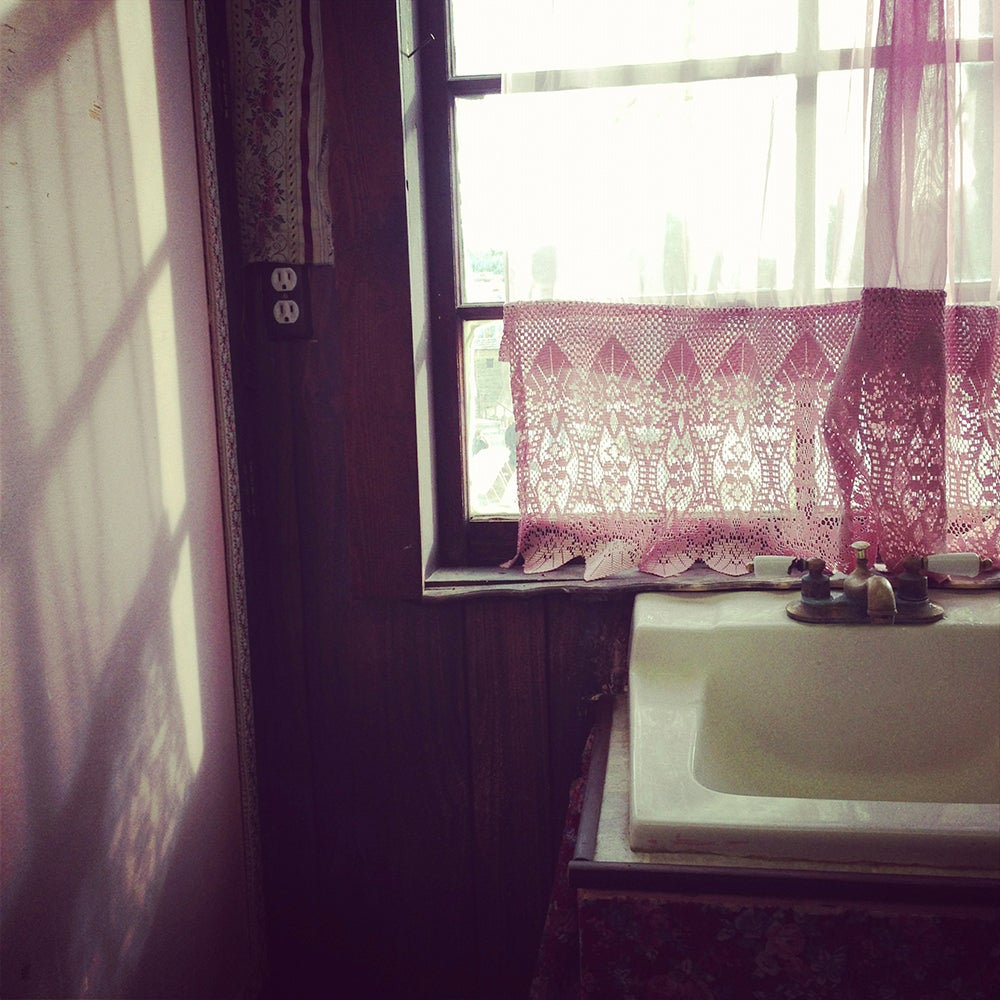 Image of Pink Curtain