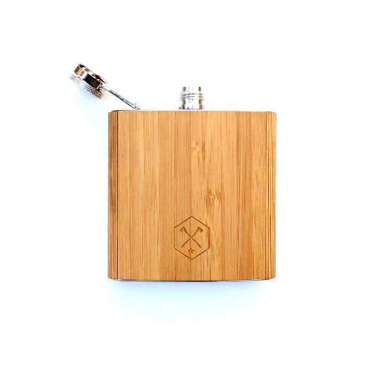 Image of TIMBER Wood Skin 6oz. Flask: Free US Shipping