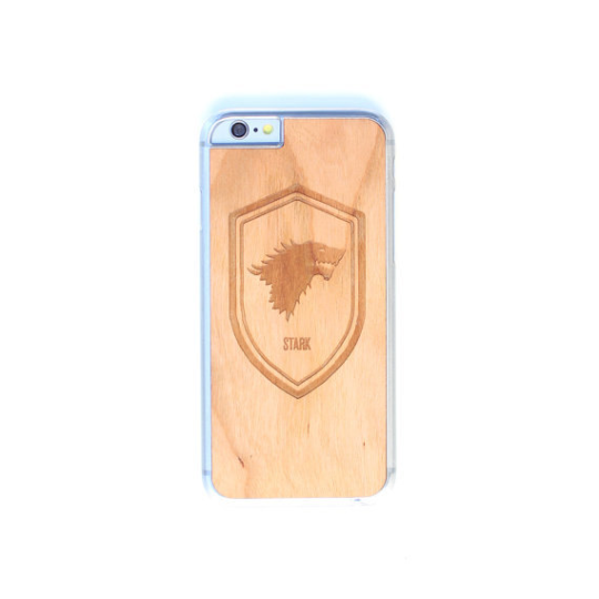 Image of TIMBER Wood Skin Case (iPhone, Samsung Galaxy) : Game of Thrones Edition