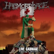 Image of Haemorrhage - Live Carnage Picture Lp