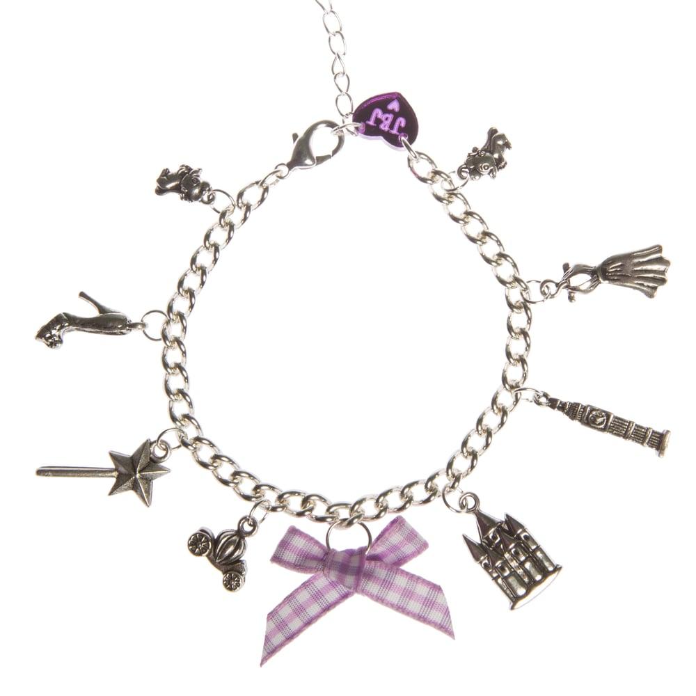Image of Cinderella Charm Bracelet