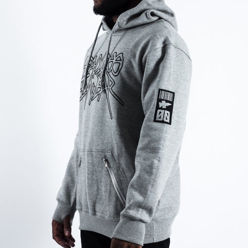 Image of 'Metal 01' Pullover (Grey)