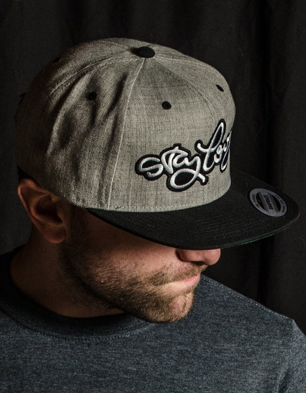 Image of Stay Loose Snapback Heather & Black