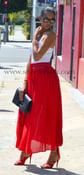 Image of CYRENE Bohemian Maxi Skirt