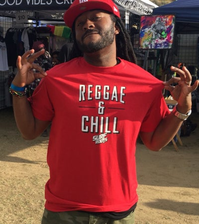 Image of NEW! Reggae & Chill Guys T - Red