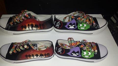 Image of Custom child's shoe - standard design