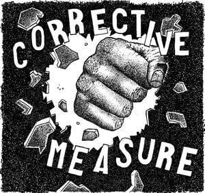 "Image of AA!#70 Corrective Measure s/t 7"""