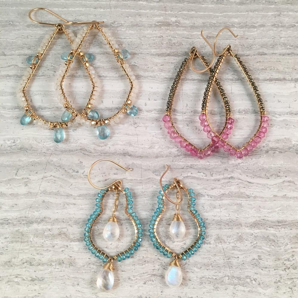 Image of beaded earrings