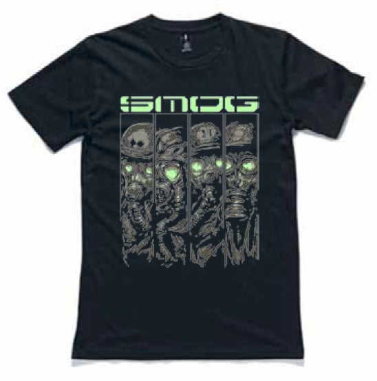 Image of SMOG Mask T-Shirt Black