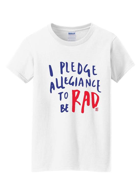 Image of Pledge to be Rad - Adult