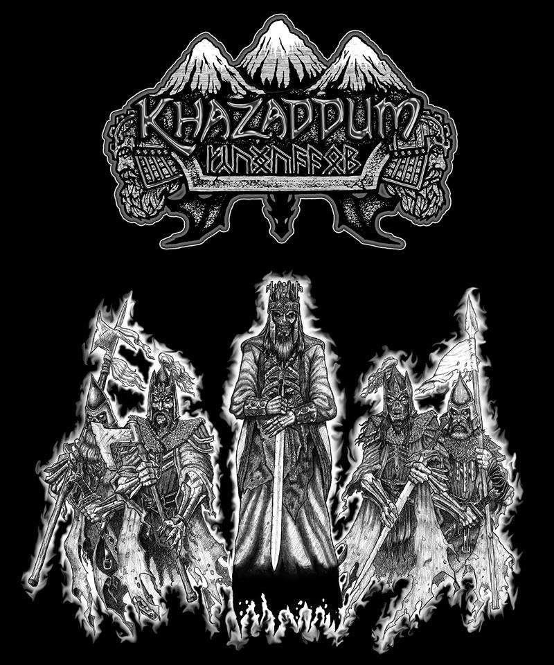 Image of Khazaddum - Outbreaker's Curse T-Shirt