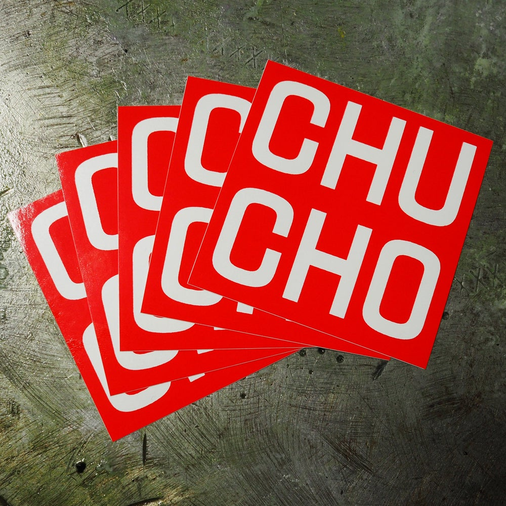 Image of CHU CHO Stickers