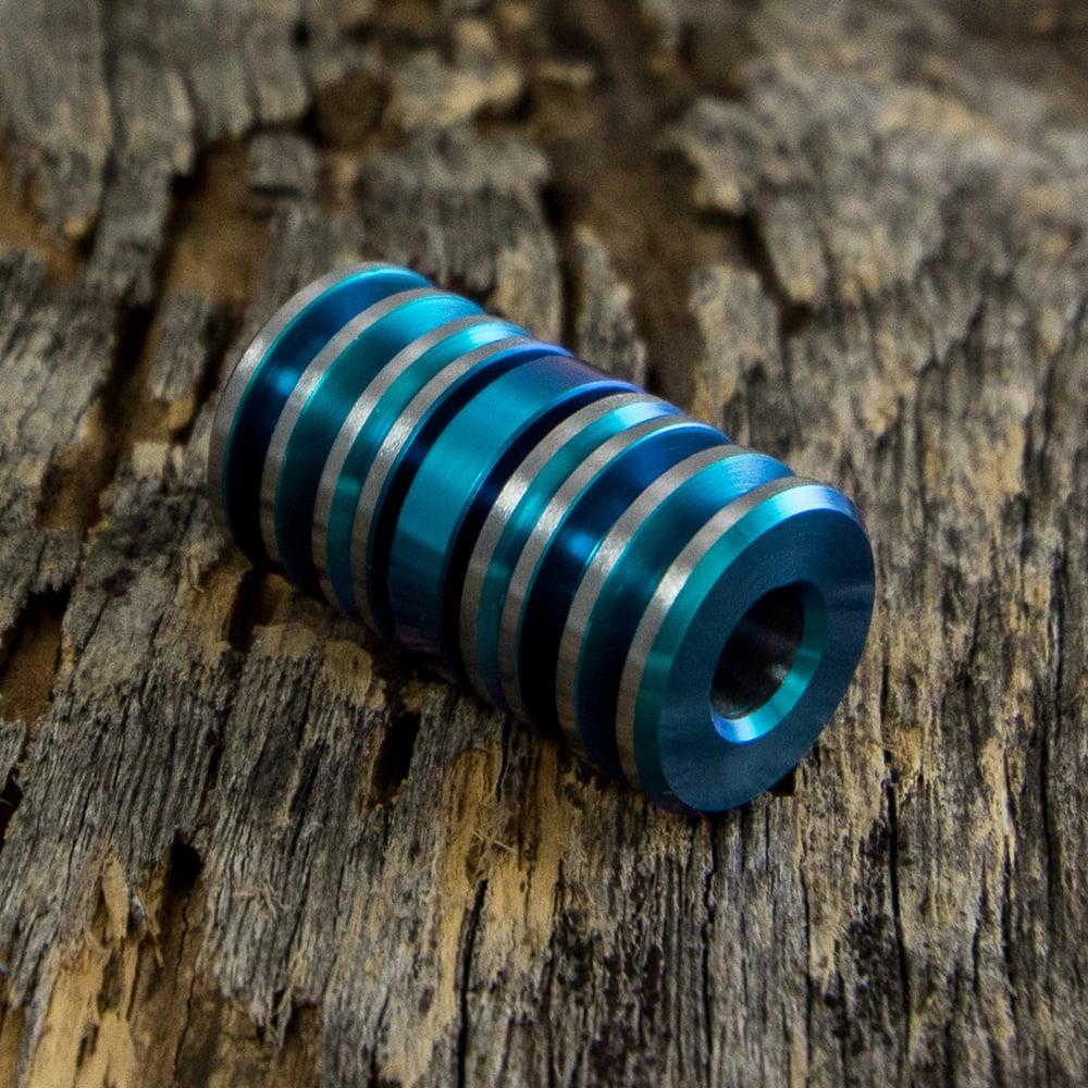 Image of Aqua Blue Triple Bead Set #6
