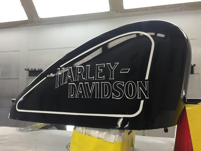 Image of Harley-Davidson Tank Lettering Decal (Pair)