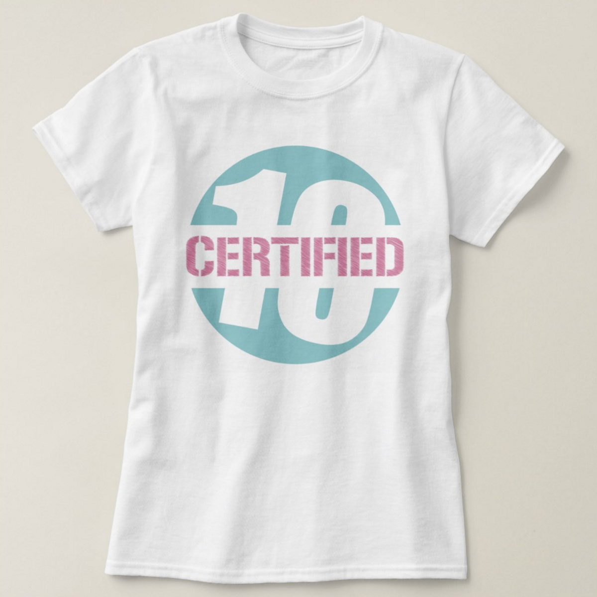 Image of Certified 10 Logo Tee