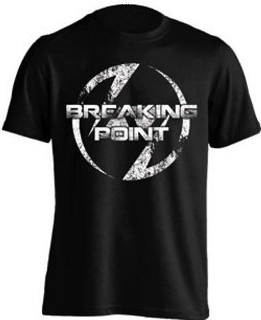 Image of Breaking Point Black T-Shirt