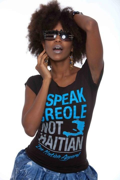 Image of I Speak Creole Women's Tee
