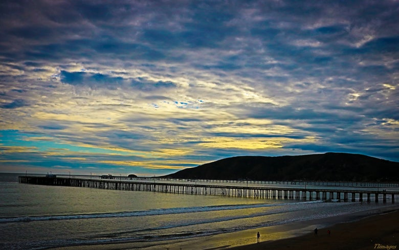 Image of Avila Beach Pier 20x30