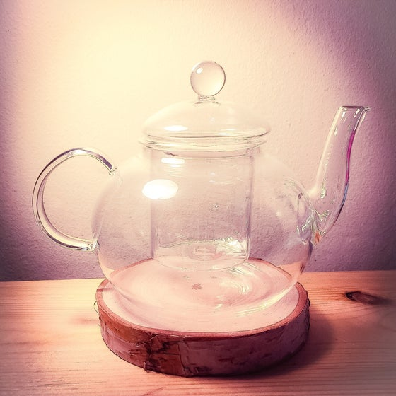 Image of Glass Teapot
